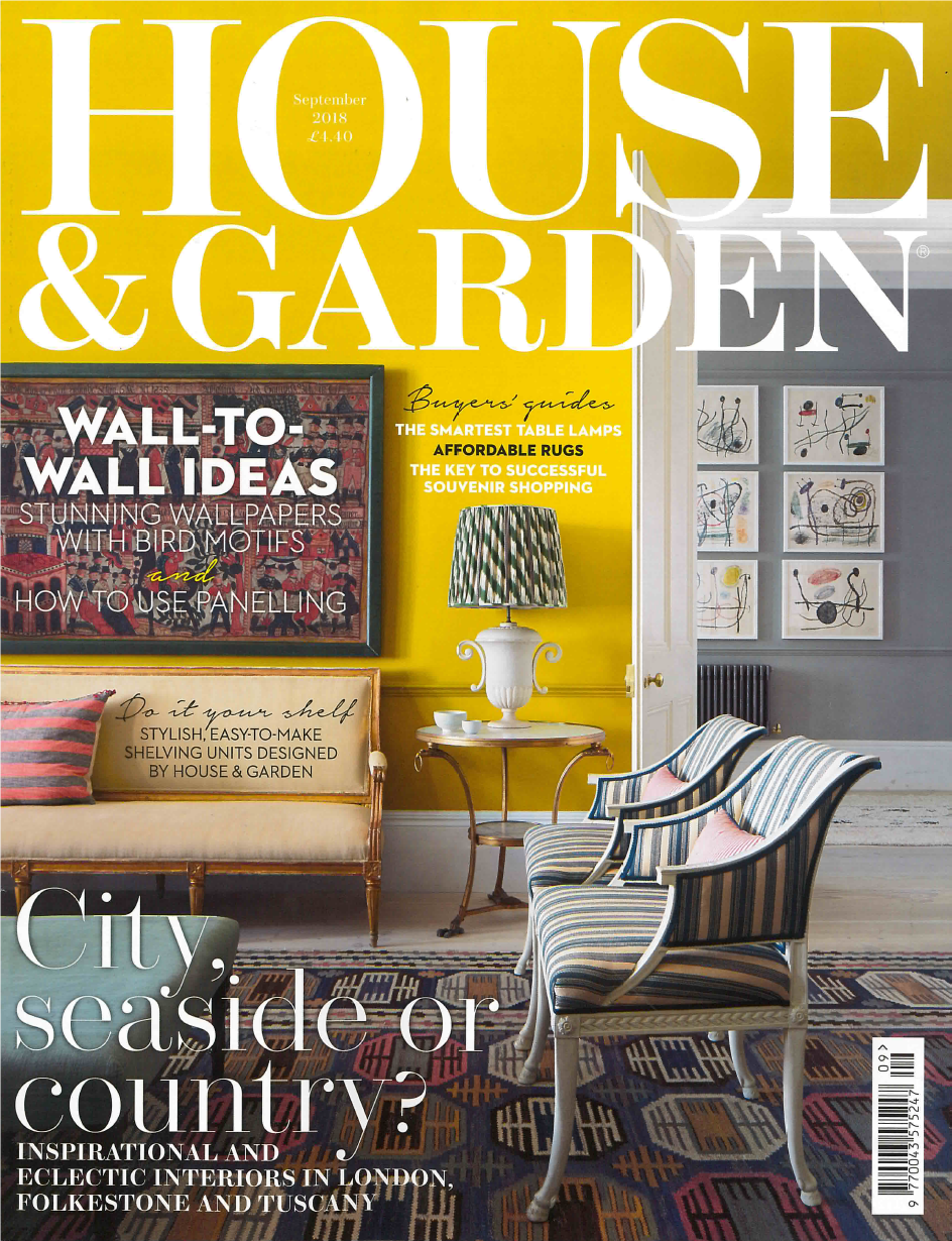House and Garden – September Edition