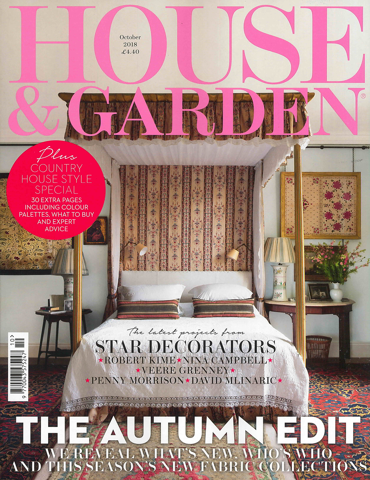 House and Garden – October Edition