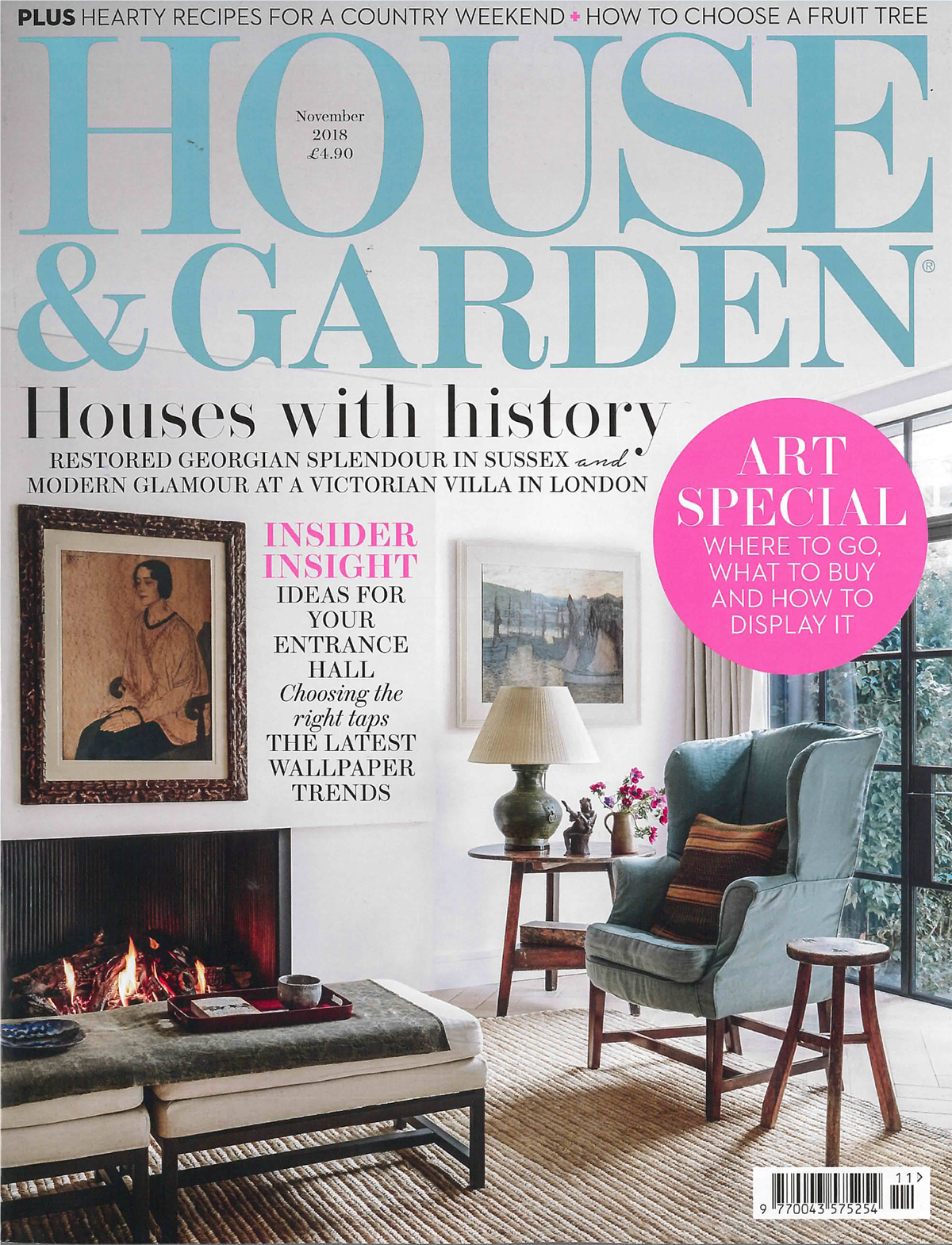 House and Garden – November Edition