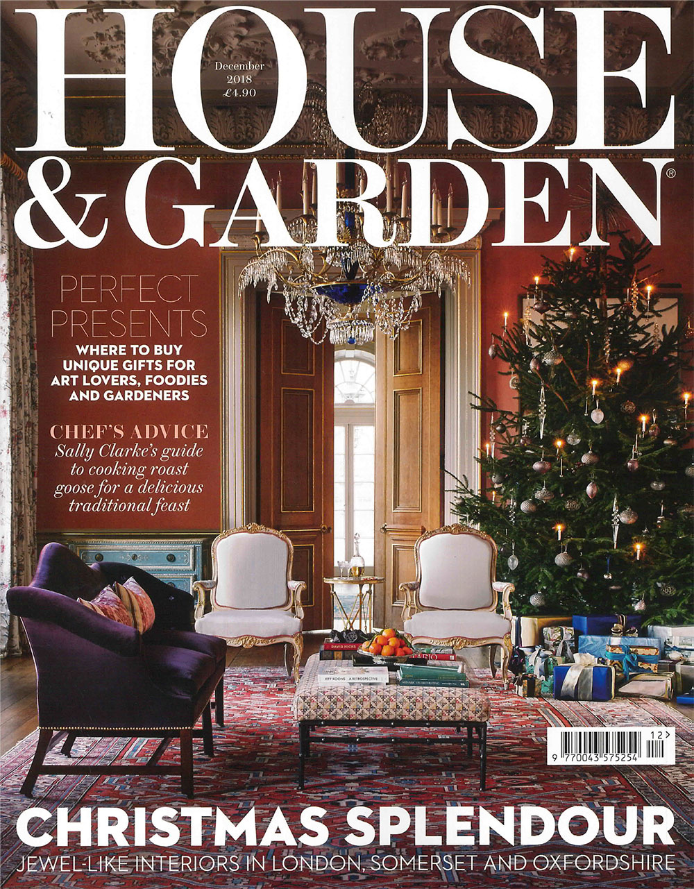 House and Garden December Edition