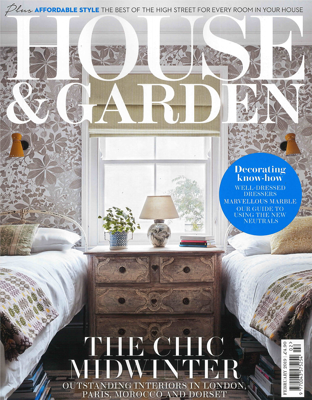 House and Garden February Edition