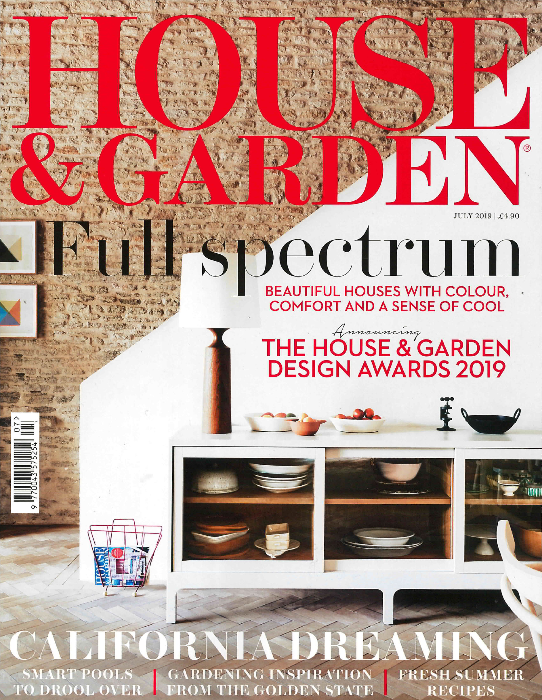 House and Garden July Edition