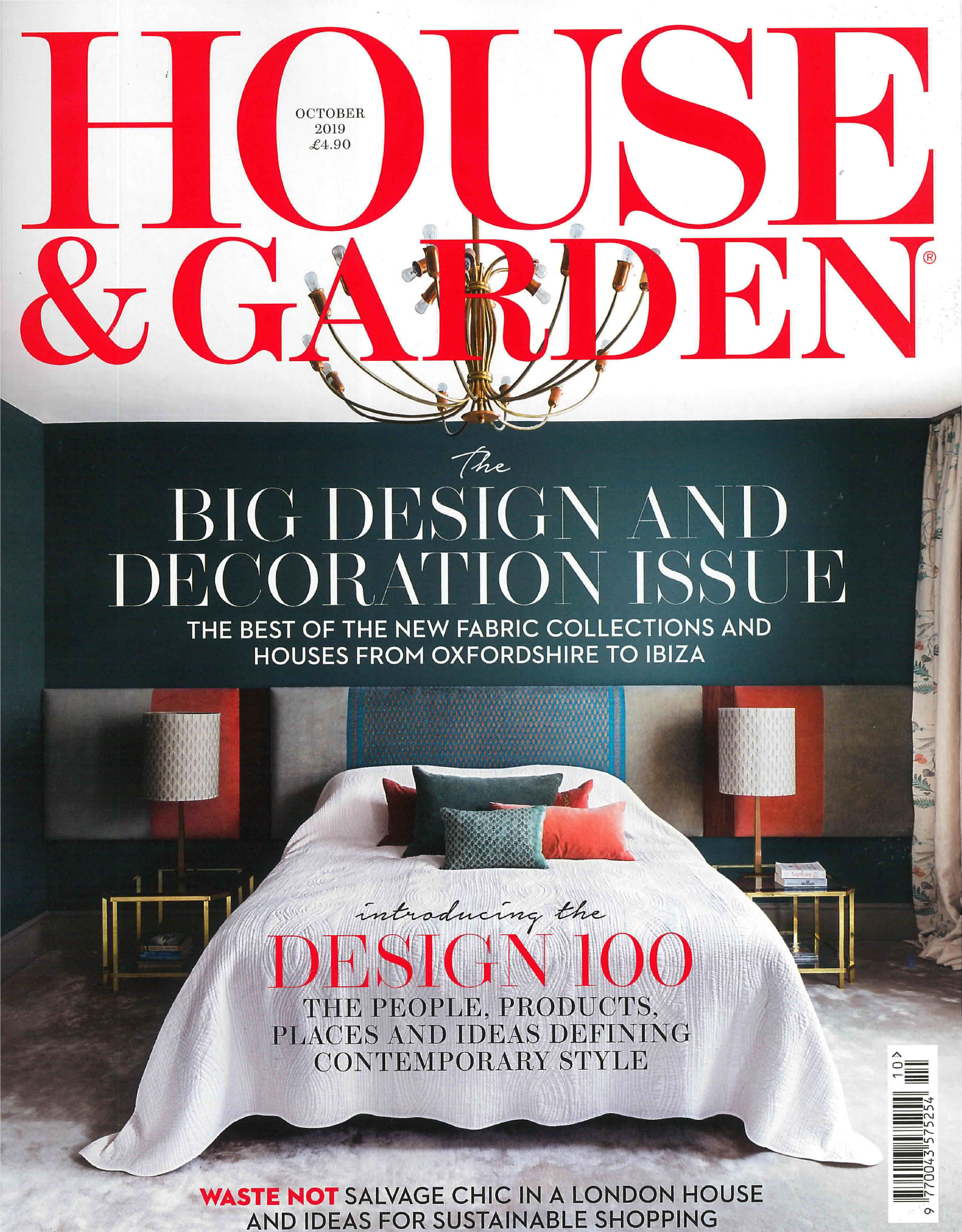 House and Garden October Edition