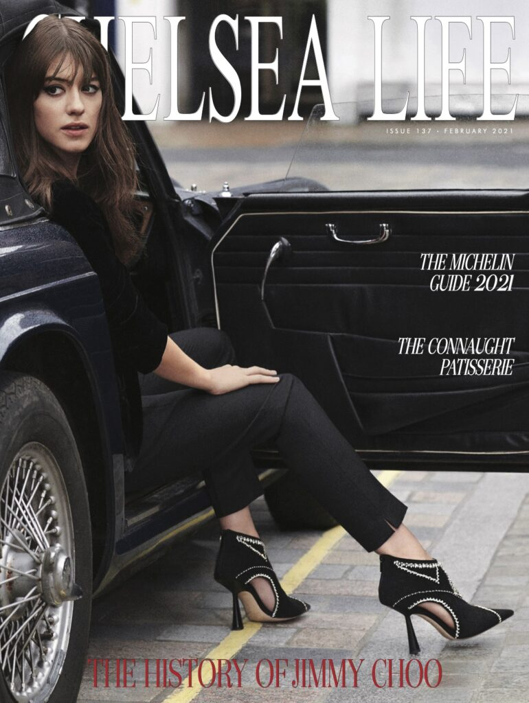 Chelsea Life Magazine Cover February 2021 Magnolia Box Featured - handmade by Objet Luxe