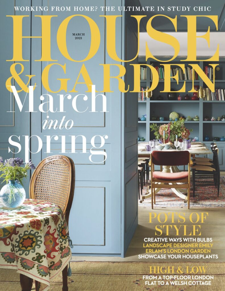 House & Garden March 2021 Objet Luxe Magazine Feature