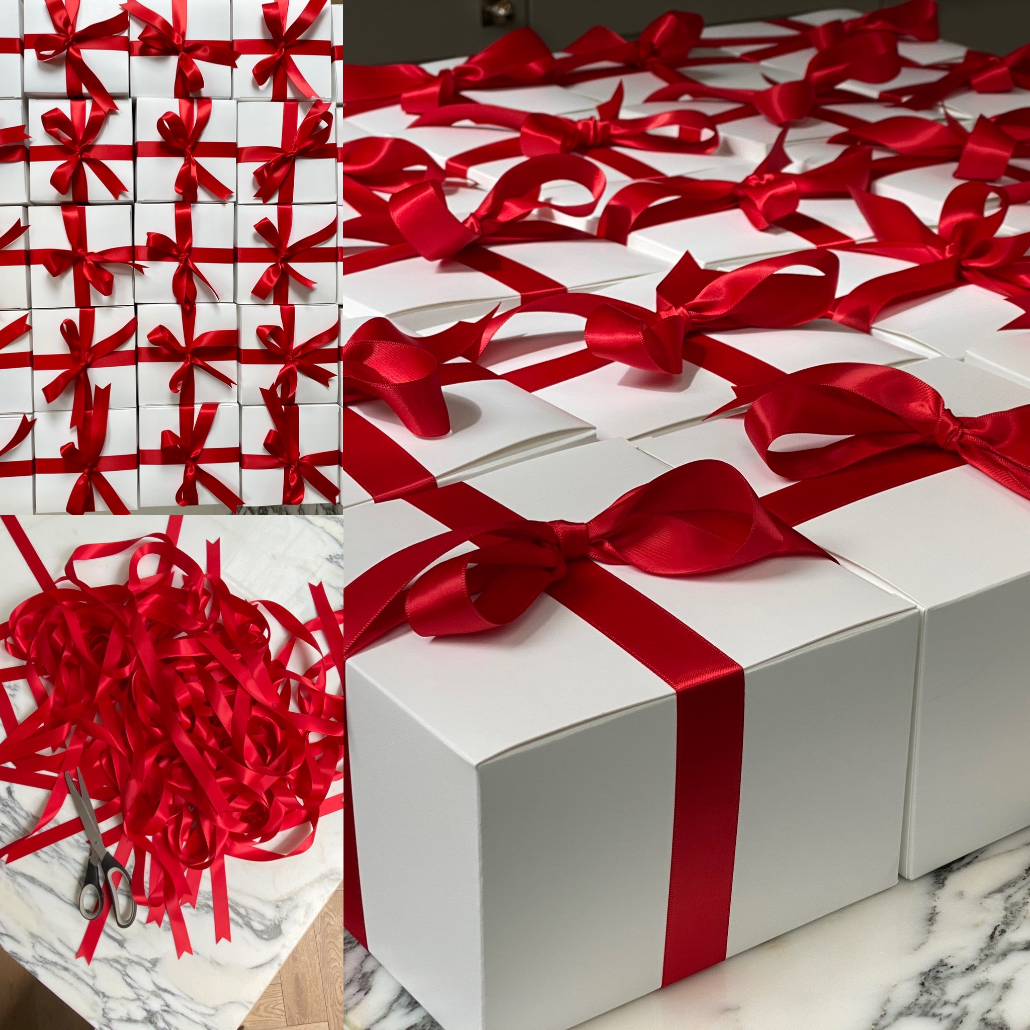 Gift Wrapping Boxes How To - Decorating with Ribbon