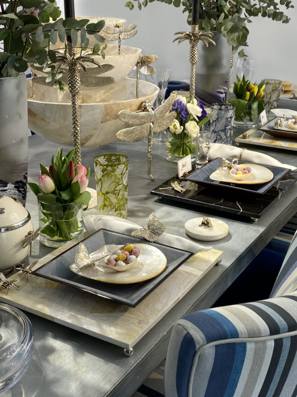 Our table dressing ideas & high-end, luxury tableware – in time for Easter!